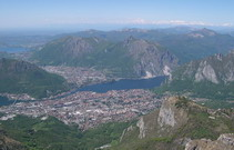 panorama, Lecco